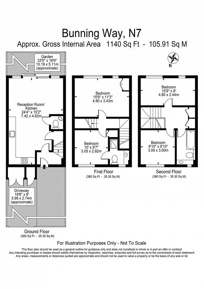 Bunning Way, Lower Holloway, N7 Floorplan