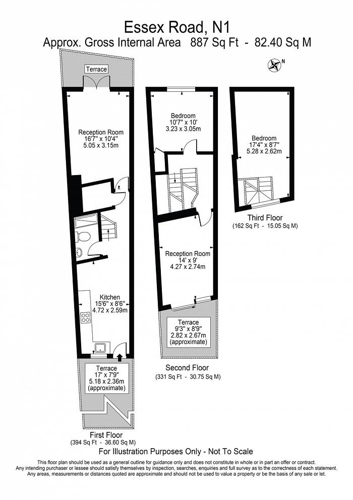 Essex Road, Islington, N1 Floorplan