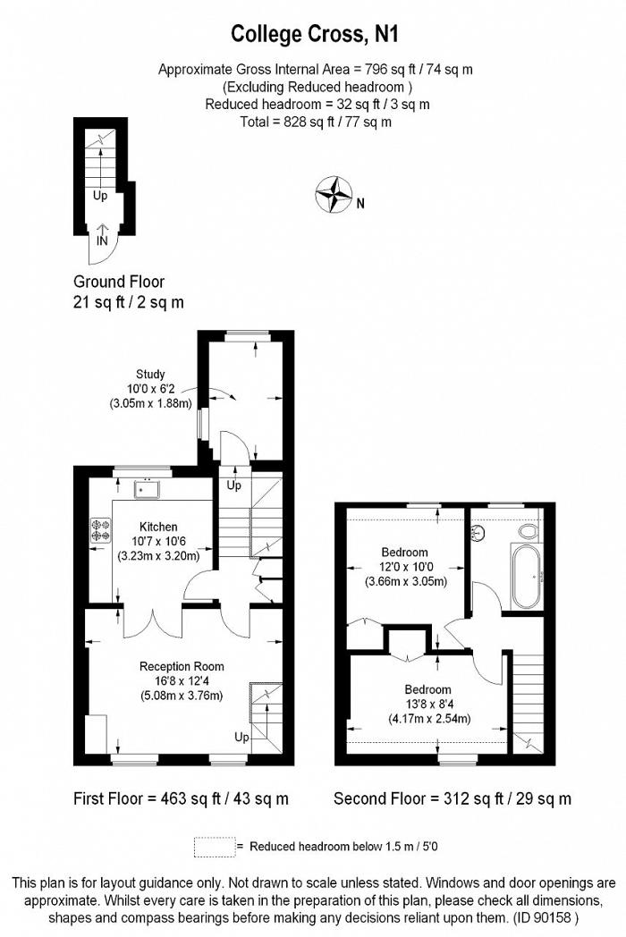 College Cross, Islington, N1 Floorplan
