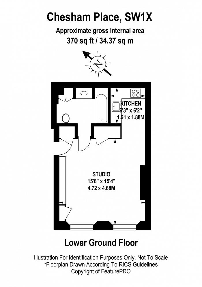 Chesham Place, Belgravia, SW1X Floorplan