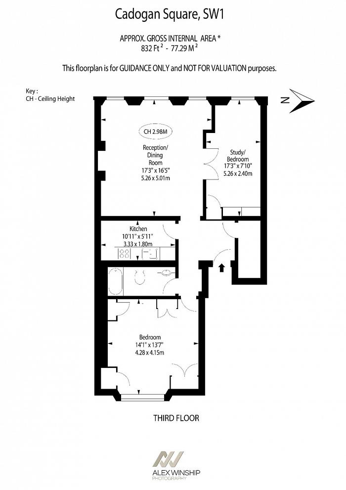 Cadogan Square, Knightsbridge, SW1X Floorplan