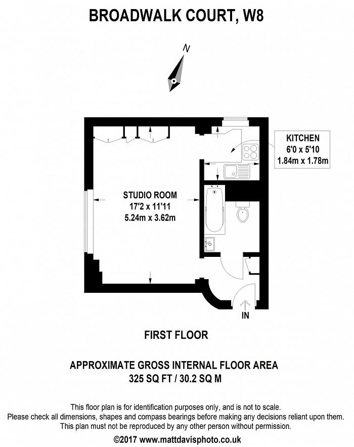Palace Gardens Terrace, Kensington, W8 Floorplan