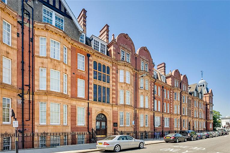Warwick Mansions, Cromwell Crescent, SW5
