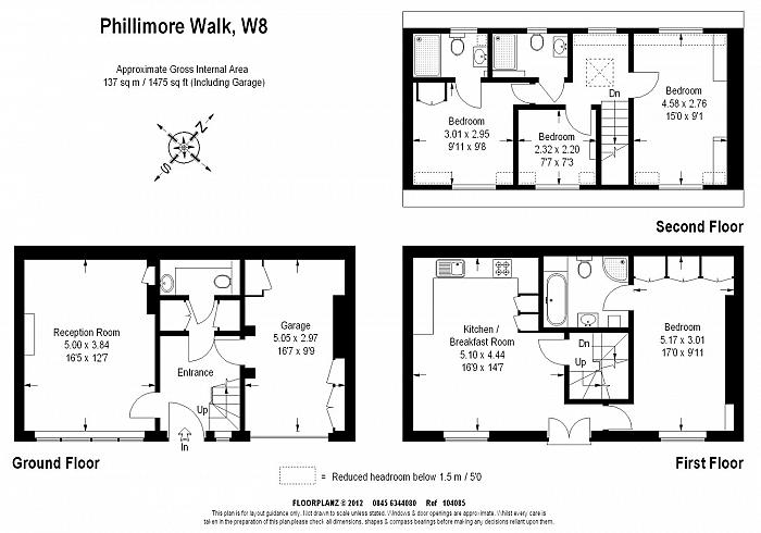 Phillimore Walk, Kensington, W8 Floorplan