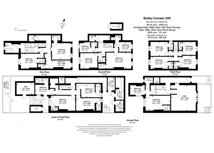 Eardley Crescent, Earls Court, SW5 Floorplan