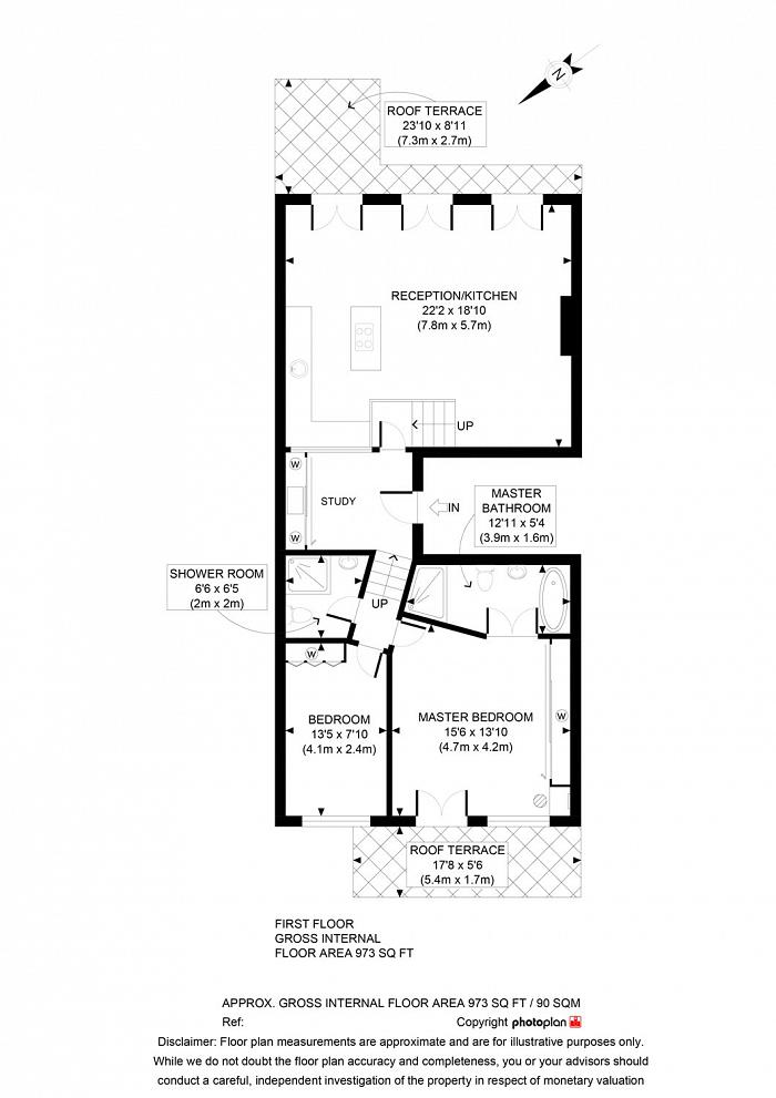 Trebovir Road, Earls Court, SW5 Floorplan