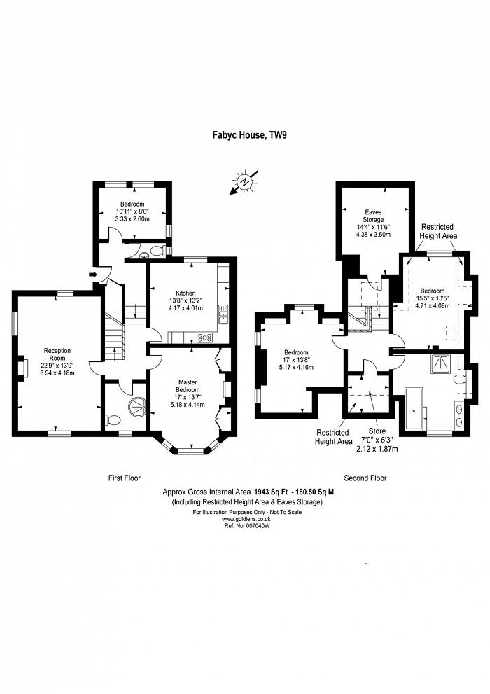 Fabyc House, Cumberland Road, TW9 Floorplan