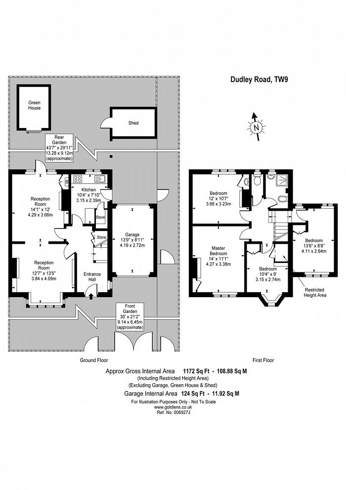 Dudley Road, Kew, TW9 Floorplan