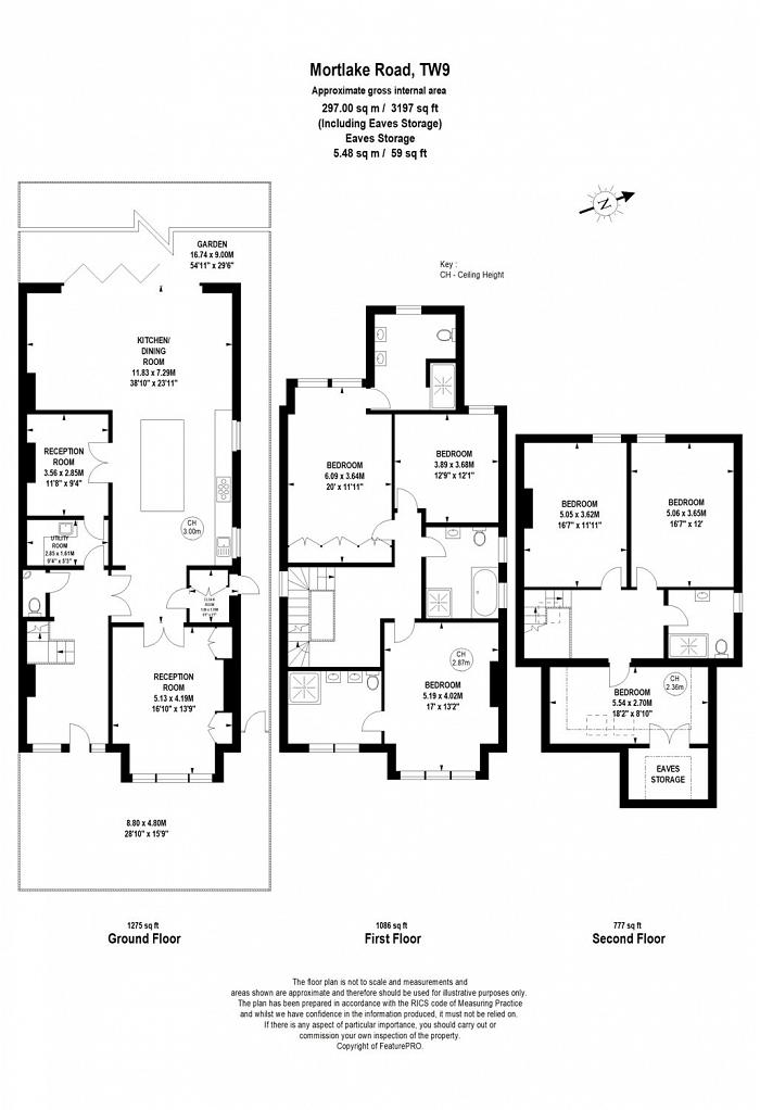 Mortlake Road, Kew, TW9 Floorplan