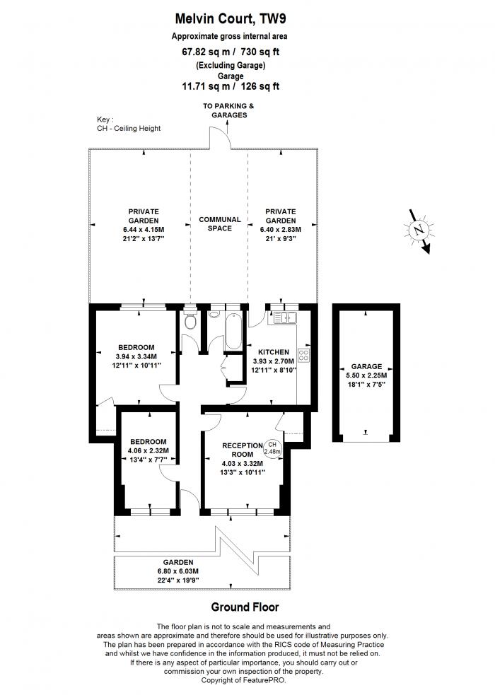 High Park Avenue, Kew, TW9 Floorplan