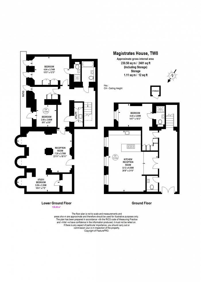 Magistrates House, Brentford, TW8 Floorplan