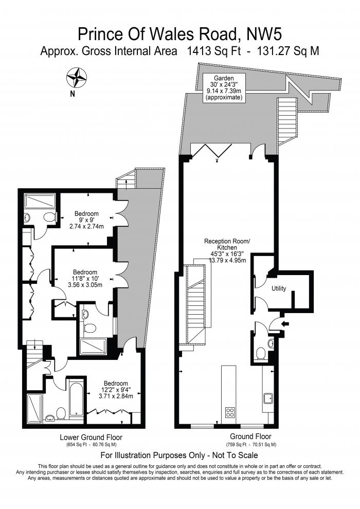 Prince of Wales Road, Kentish Town, NW5 Floorplan