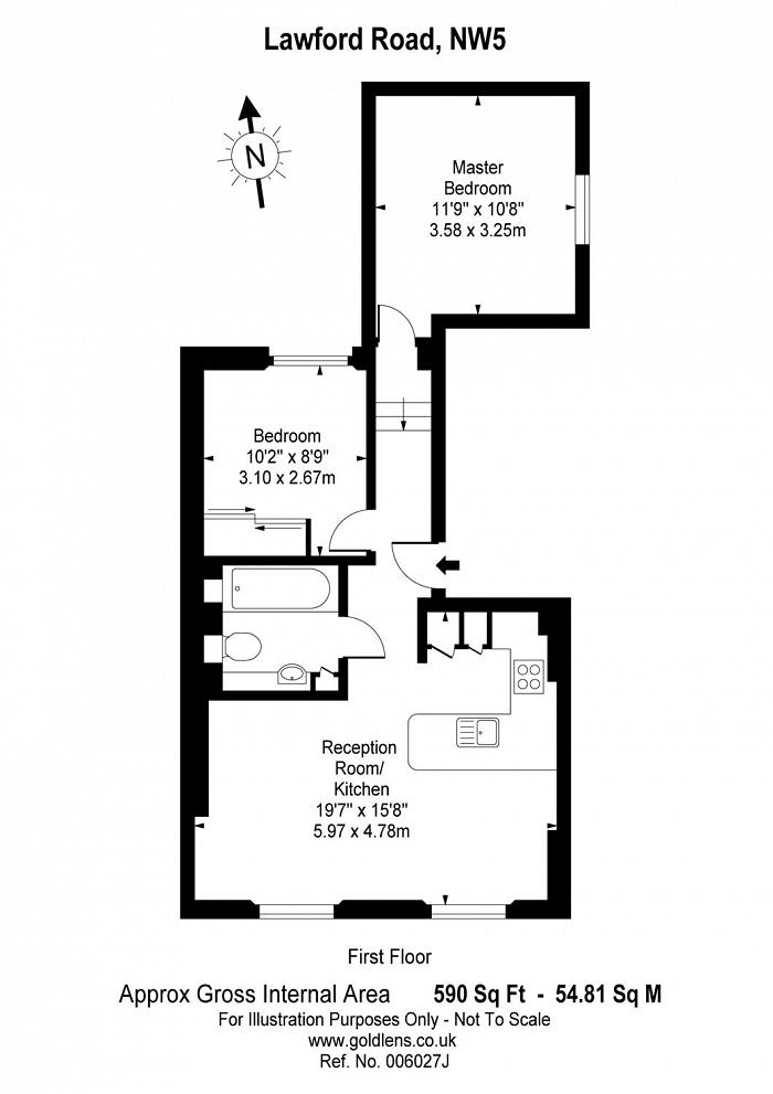 Lawford Road, Kentish Town, NW5 Floorplan