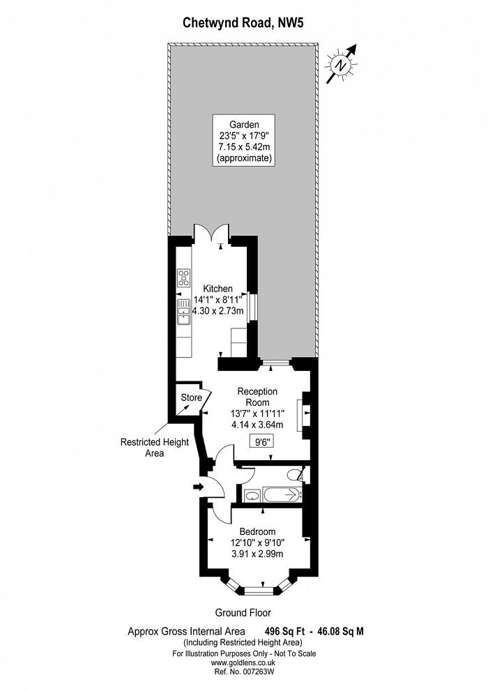 Chetwynd Road, Dartmouth Park, NW5 Floorplan