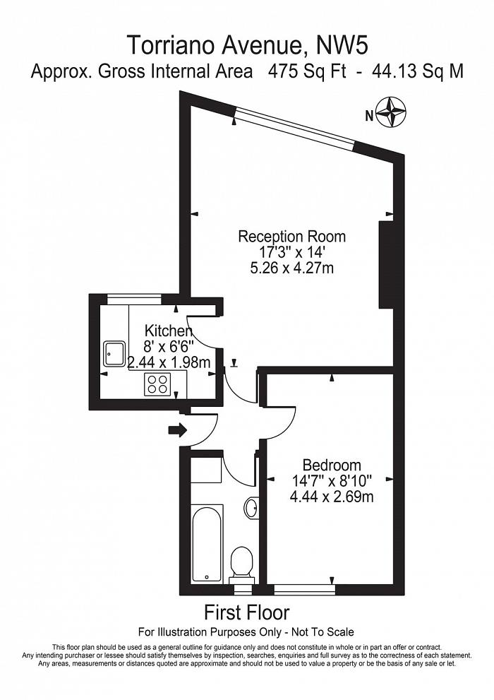 Torriano Avenue, Kentish Town, NW5 Floorplan