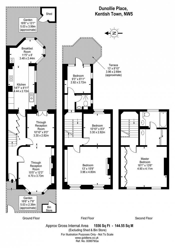 Dunollie Place, Kentish Town, NW5 Floorplan