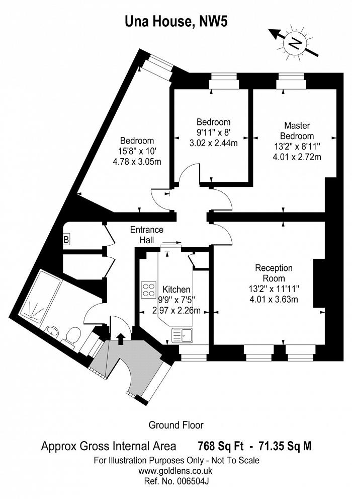 Una House, Prince of Wales Road, NW5 Floorplan