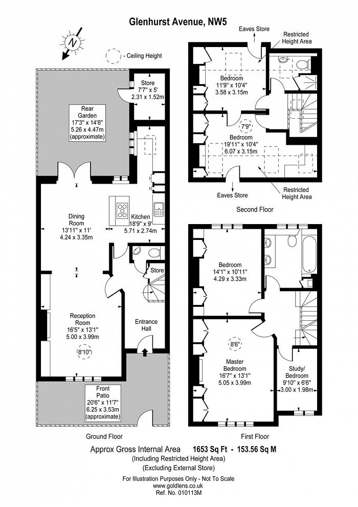 Glenhurst Avenue, Gospel Oak, NW5 Floorplan