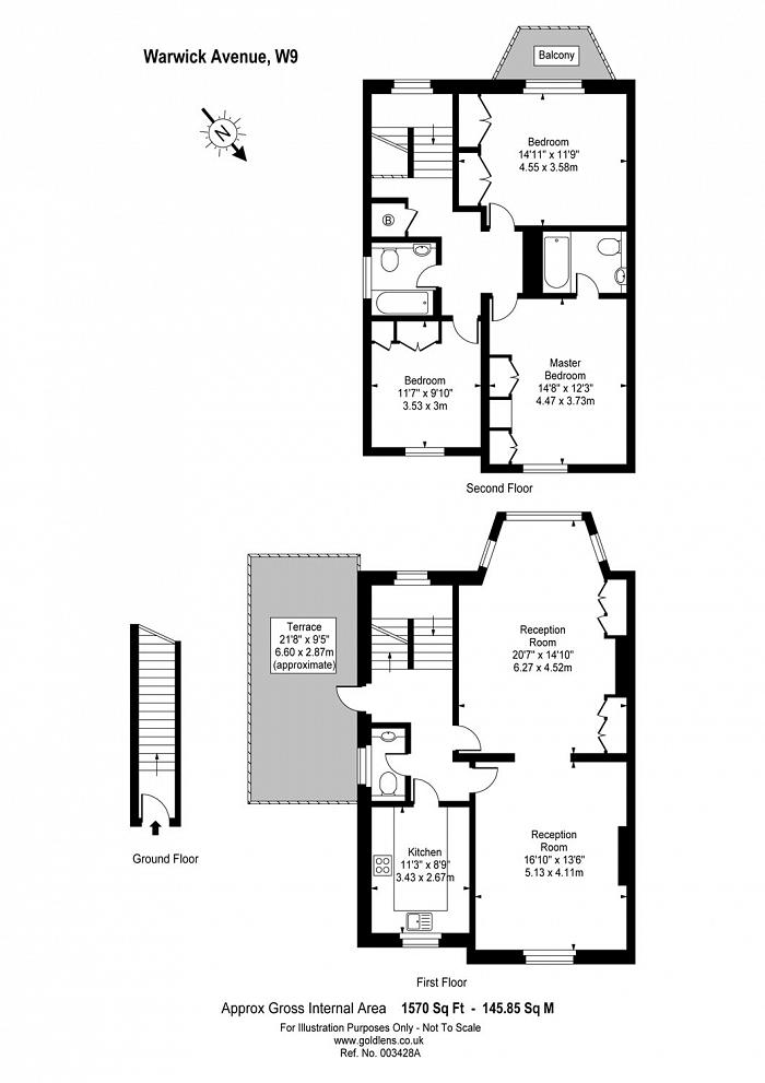 Warwick Avenue, Little Venice, W9 Floorplan