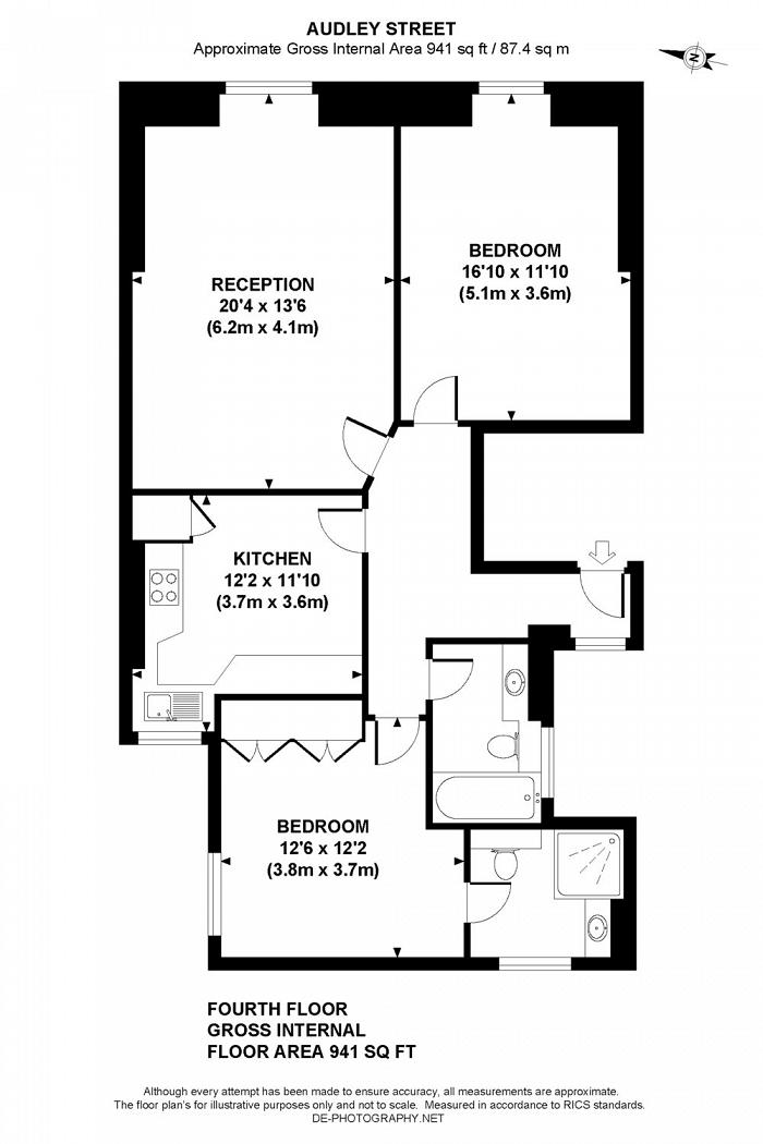 South Audley Street, Mayfair, W1K Floorplan