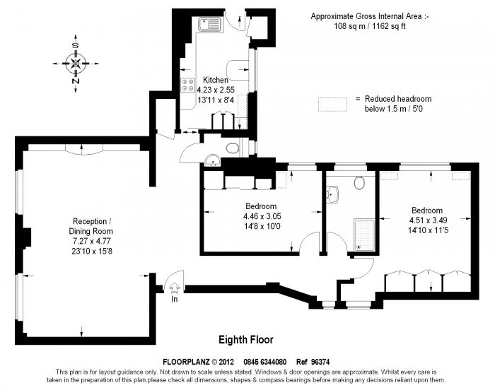 Chesterfield House, Chesterfield Gardens, W1J Floorplan