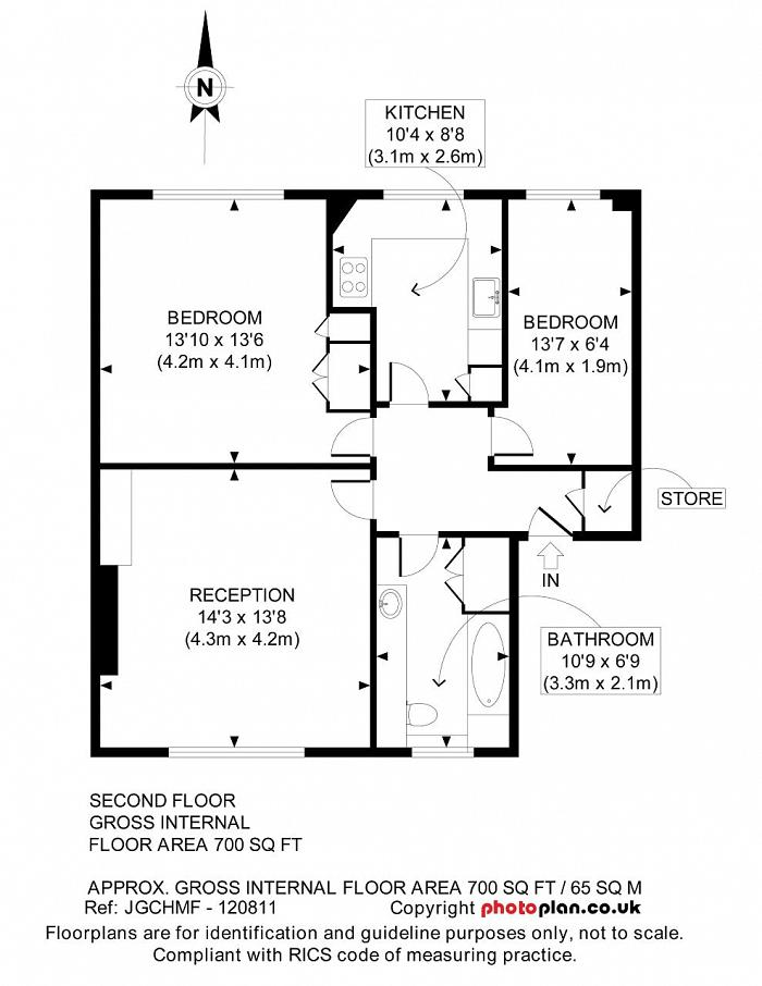 Reeves Mews, Mayfair, W1K Floorplan