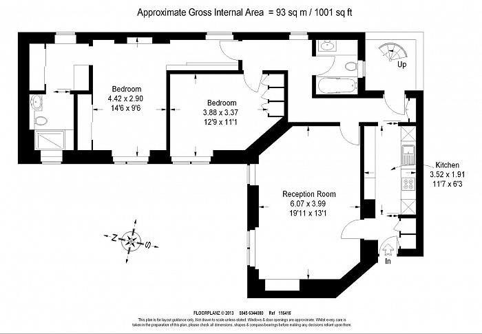 South Street, Mayfair, W1K Floorplan