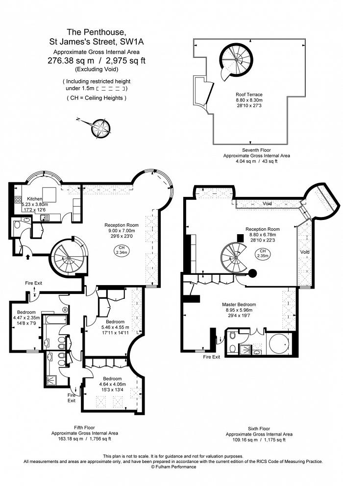 St. James's Street, St. James's, SW1A Floorplan