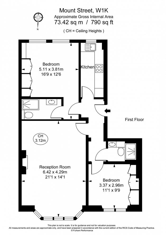 Mount Street, Mayfair, W1K Floorplan
