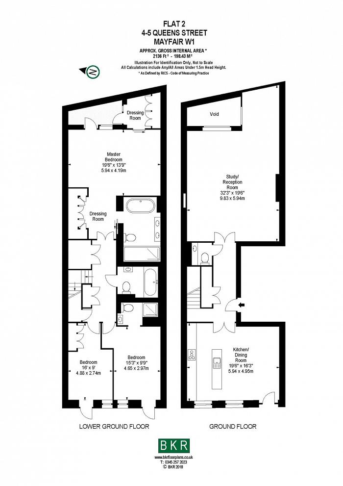 Queen Street, Mayfair, W1J Floorplan