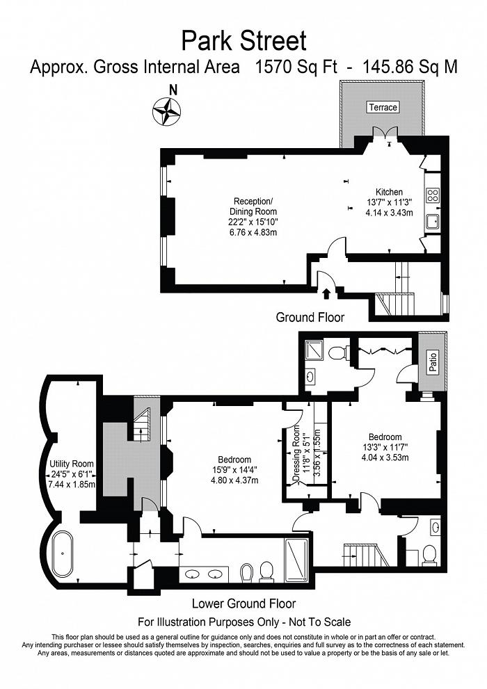 Park Street, Mayfair, W1K Floorplan