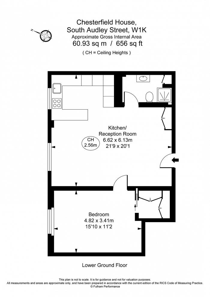 Chesterfield House, South Audley Street, W1K Floorplan
