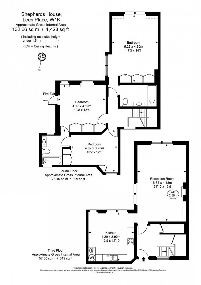 Shepherds House, 20 Lees Place, W1K Floorplan