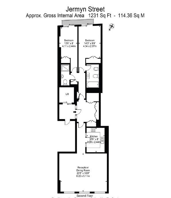 Jermyn Street, St James's, SW1Y Floorplan