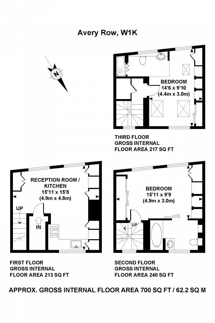 Avery Row, Mayfair, W1K Floorplan