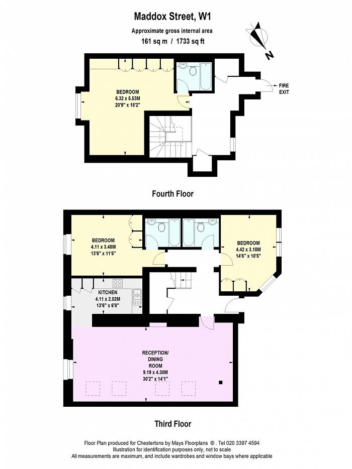 Maddox Street, Mayfair, W1S Floorplan