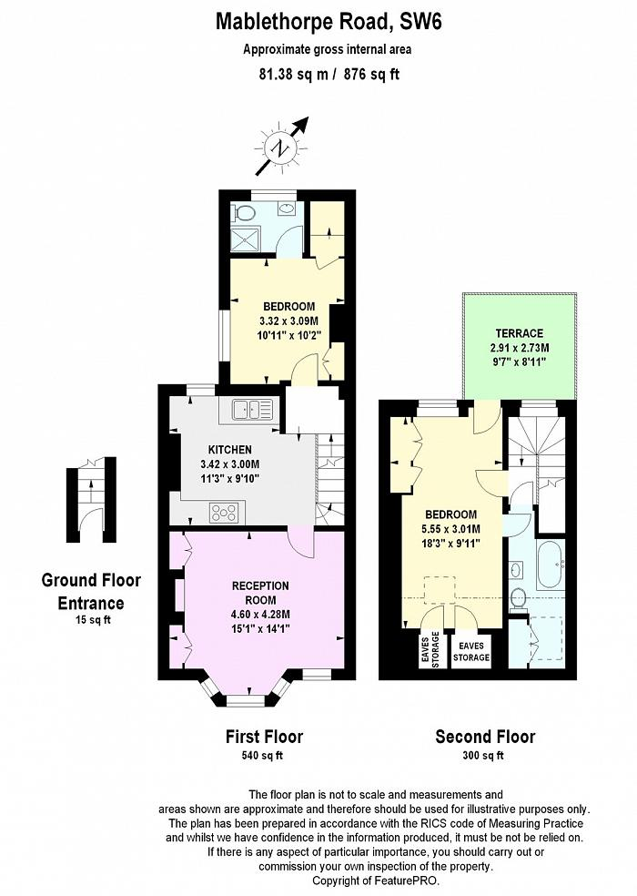 Mablethorpe Road, Munster Village, SW6 Floorplan