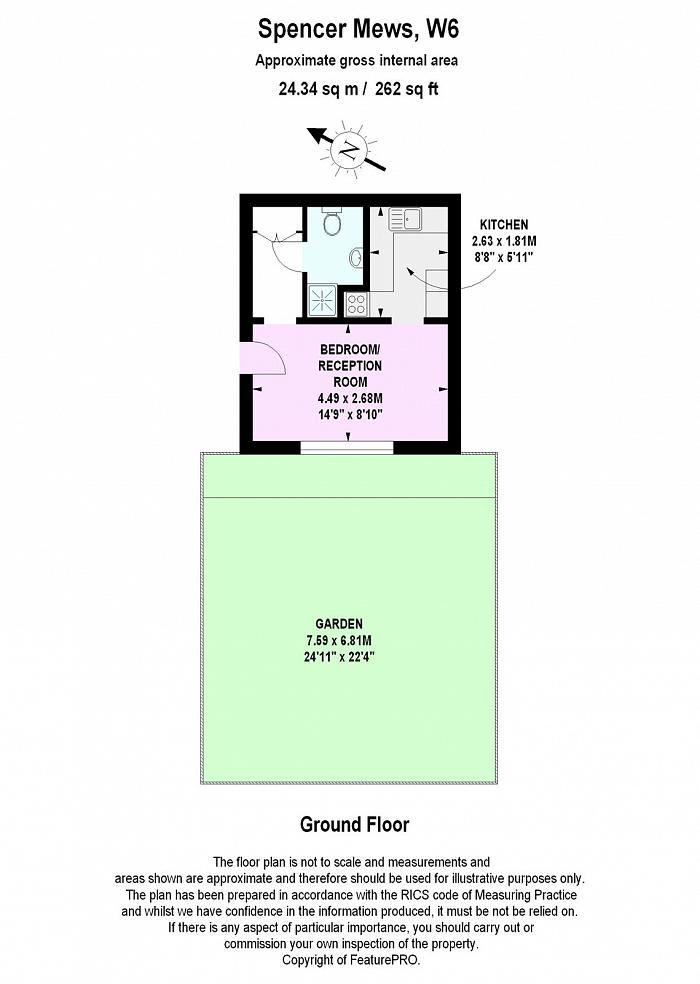 Spencer Mews, Hammersmith, W6 Floorplan