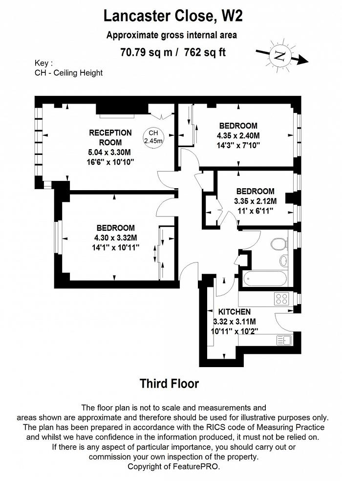 St. Petersburgh Place, Bayswater, W2 Floorplan