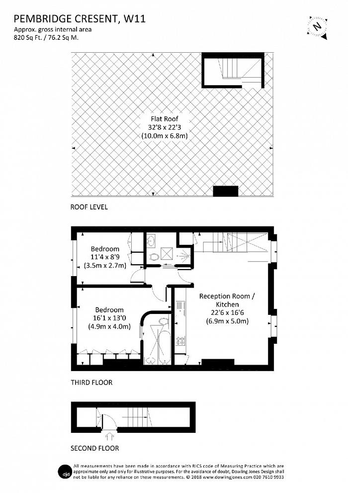 Pembridge Crescent, Notting Hill, W11 Floorplan