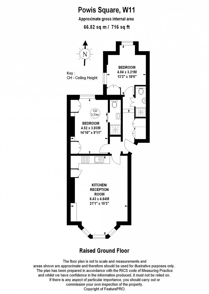 Powis Square, Notting Hill, W11 Floorplan