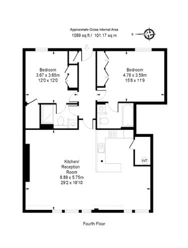 The Baynards, Chepstow Place, W2 Floorplan