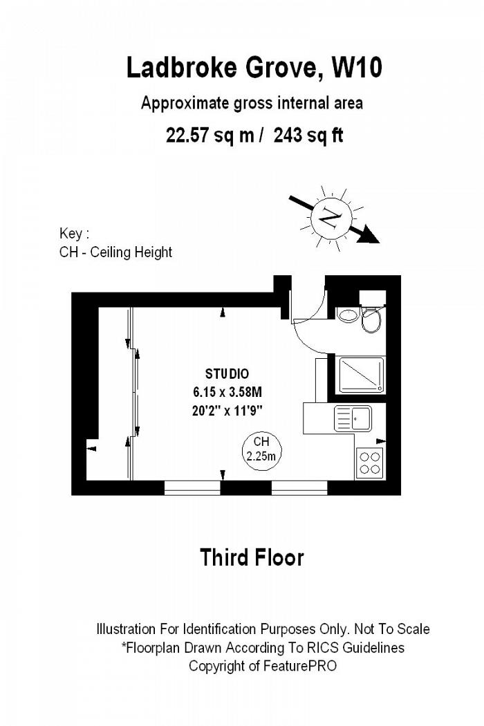 Ladbroke Grove, North Kensington, W10 Floorplan