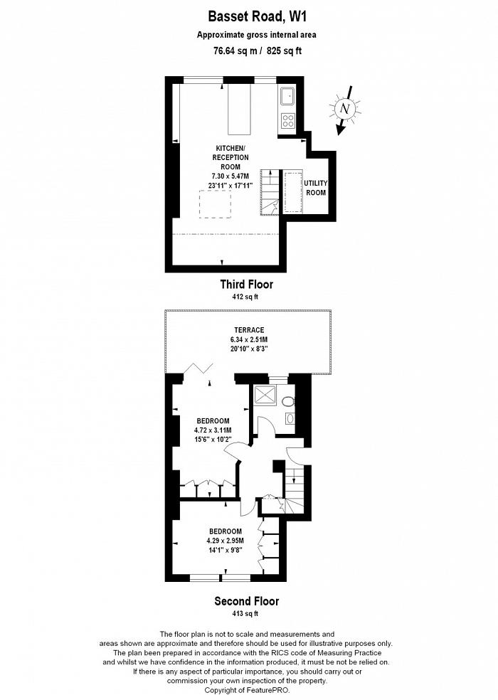 Bassett Road, North Kensington, W10 Floorplan