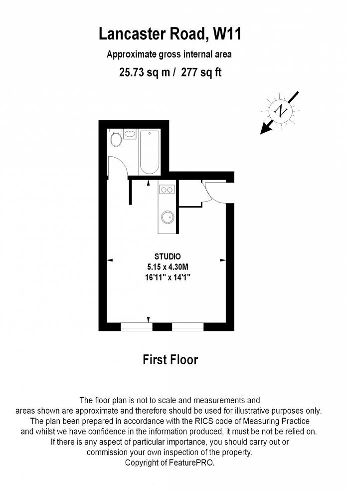 Lancaster Road, Notting Hill, W11 Floorplan