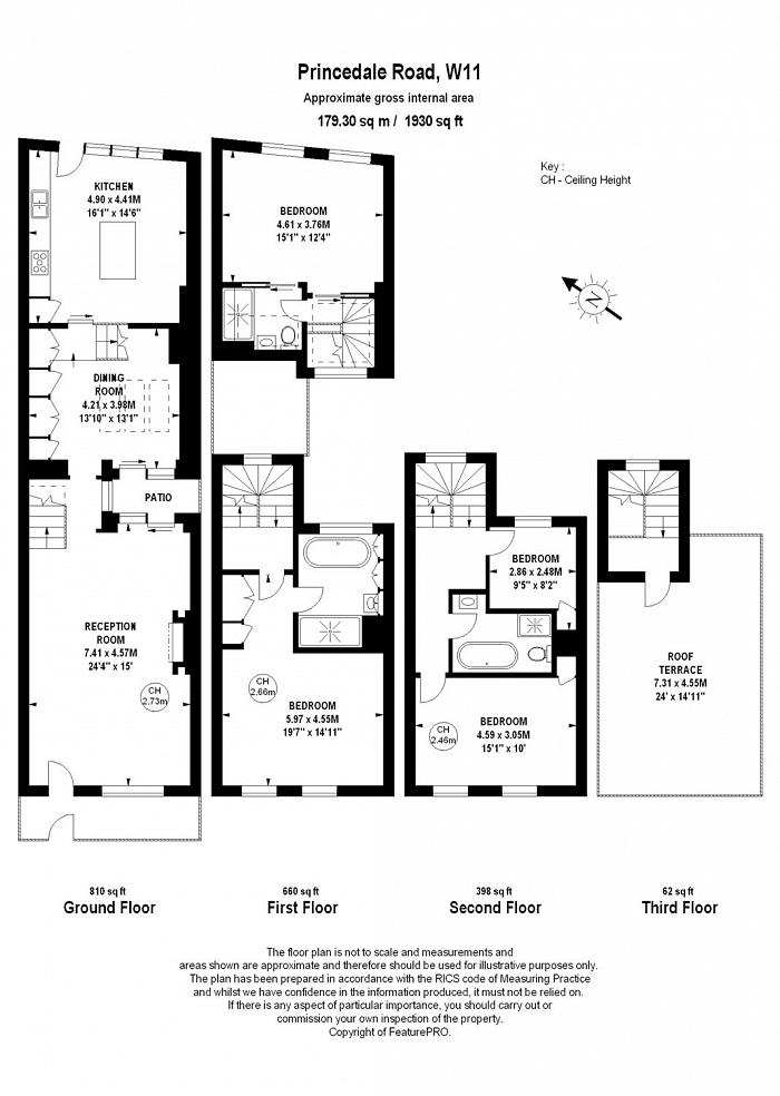 Princedale Road, Holland Park, W11 Floorplan