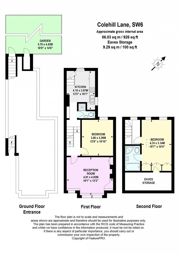 Colehill Lane, Munster Village, SW6 Floorplan
