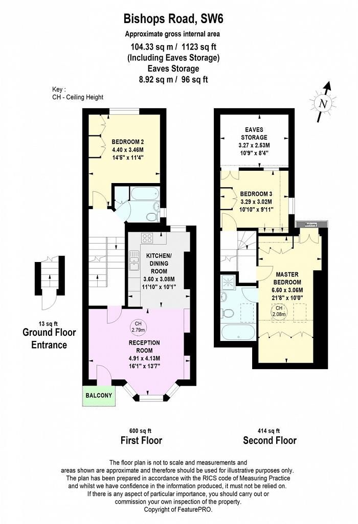 Bishops Road, Parsons Green, SW6 Floorplan