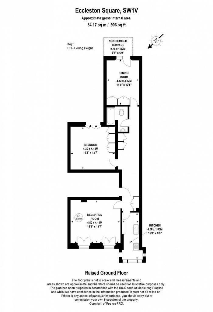 Eccleston Square, Pimlico, SW1V Floorplan