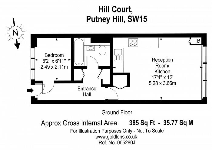 Hill Court, Putney Hill, SW15 Floorplan